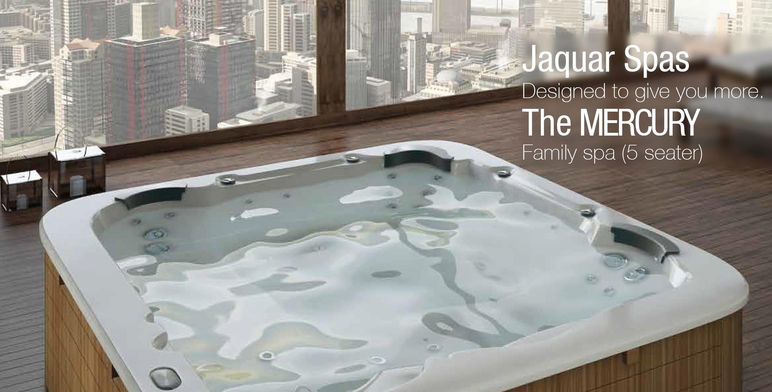 Complete Bathroom Solutions-Jaquar Spas Mercury