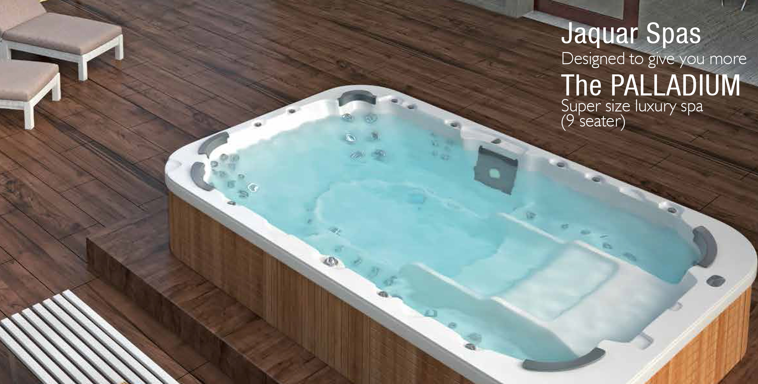 Complete Bathroom Solutions-Jaquar Spas palladium